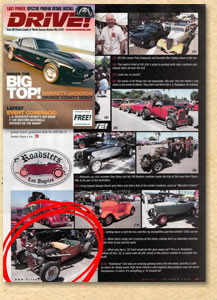 Bear Metal Kustoms in the October 2010 issue of Drive Magazine