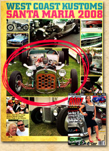 Bear Metal Kustoms in the November 2008 issue of Ol' Skool Rodz!