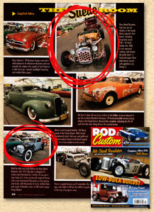 Bear Metal Kustoms in the July 2009 issue of Rod & Custom!