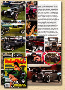 Bear Metal Kustoms in the October 2008 issue of Rebel Rodz!