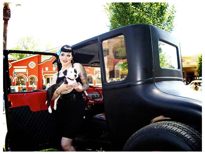 The Pall Bearer at the West Coast Kustoms car show in Paso Robles.