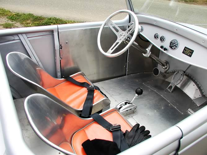 The bomber seats in the coupster.